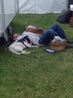 Sleepy family at the Country fair!