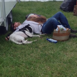 Sleepy family at the Country fair!